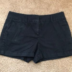 "Loft Black 4"" Chino Shorts"